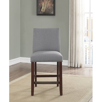 Putcha 25 Bar Stool Upholstery: Gray