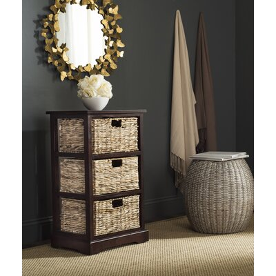 Halle End Table With Storage� Color: Cherry