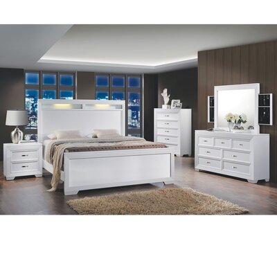 Scalf Queen Panel 6 Piece Bedroom Set