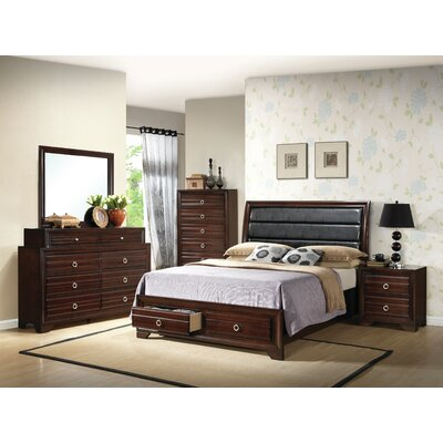 Newtownabbey Queen Platform 6 Piece Bedroom Set