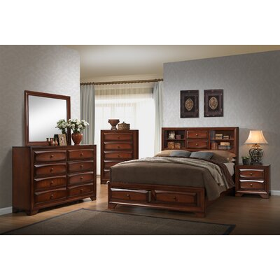 Nielson Panel 6 Piece Bedroom Set Bed Size: King