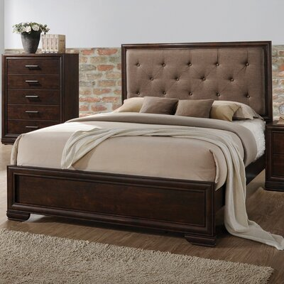 Westra Upholstered Panel Bed Size: King