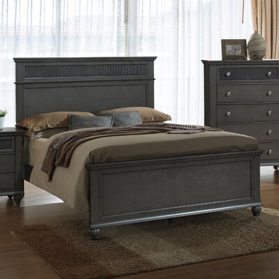 Fulbright Panel Bed Size: King