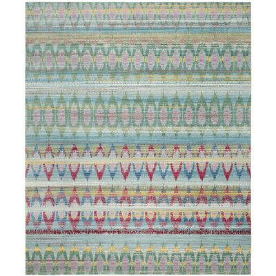 Doline Light Blue Area Rug Rug Size: Rectangle 8 x 10