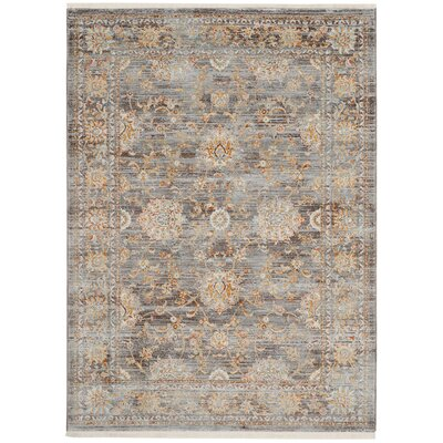 Aronwold Light Brown/Multi-Colored Area Rug Rug Size: Rectangle 5 x 76