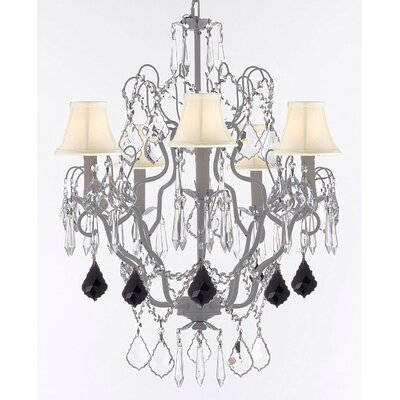 Romero 5-Light Candle-Style Chandelier