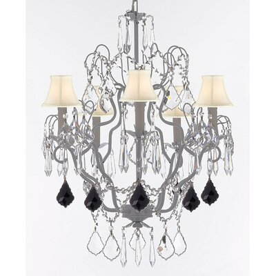 Jennings 5-Light Candle-Style Chandelier