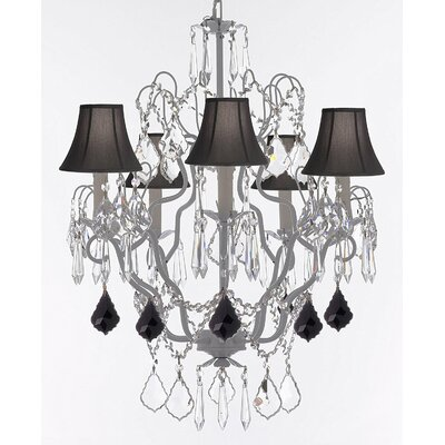 Esparza 5-Light Candle-Style Chandelier