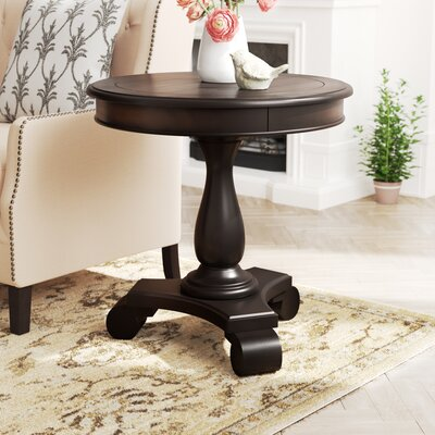 Annable End Table Color: Espresso