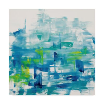'Fragment' Acrylic Painting Print on Wrapped Canvas