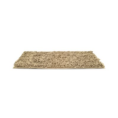 Paws Towel and Shammy Pet Mat Color: Sand, Size: Small (24 W x 1 D x 18 H)