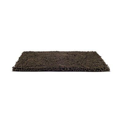 Paws Towel and Shammy Pet Mat Size: Medium (30 W x 1 D x 21 H), Color: Mud