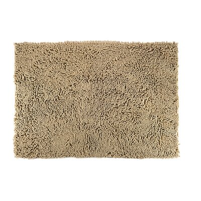 Paws Towel and Shammy Pet Mat Size: Small (24 W x 1 D x 18 H), Color: Sand
