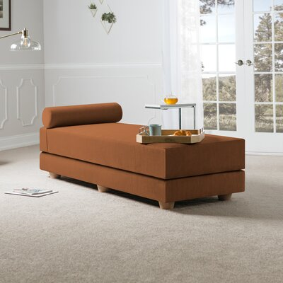 Choy Daybed with Mattress Color: Butternut