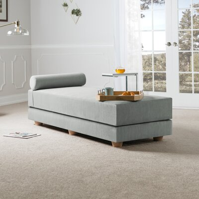 Choy Daybed with Mattress Color: ice