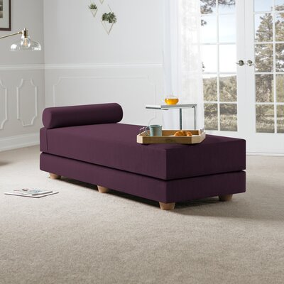 Choy Daybed with Mattress Color: Pinot