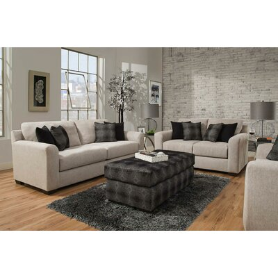 Davy 3 Piece Living Room Set