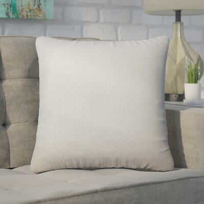 Wychwood Geometric Throw Pillow Color: Tan