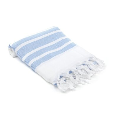 Turkish Hand Towel Color: Light Blue
