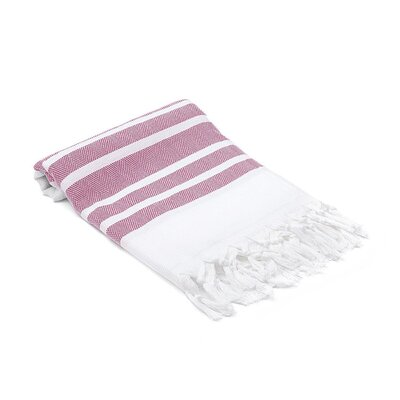Turkish Hand Towel Color: Fuchsia
