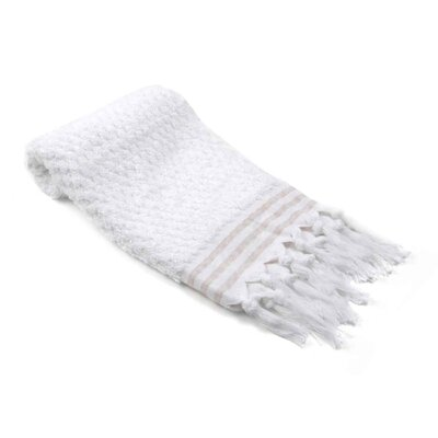 Eilerman Dots Hand Towel Color: White