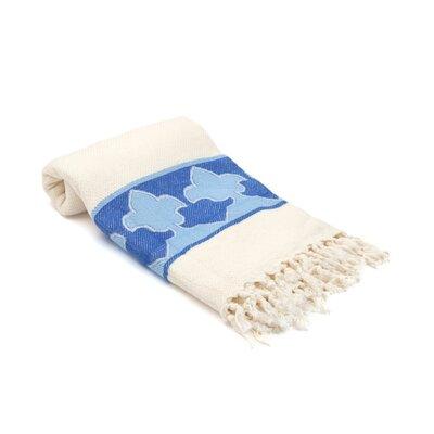 Skiba Turkish Beach Towel Color: Blue