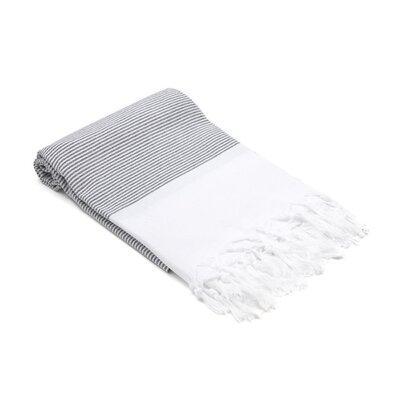 Didyma Turkish Hand Towel Color: Black