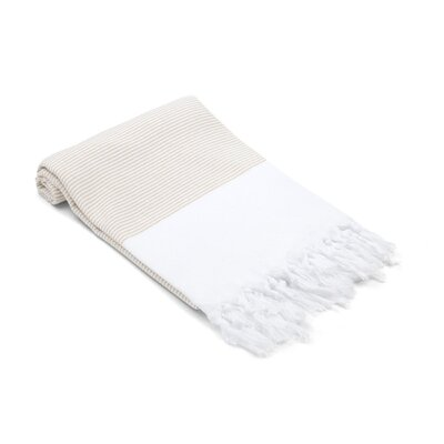 Didyma Turkish Hand Towel Color: Desert Sand