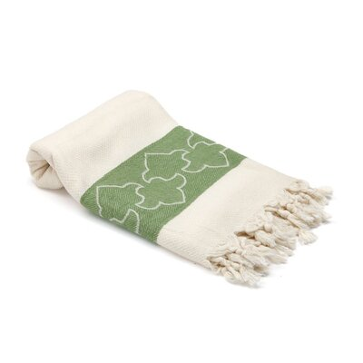Skiba Turkish Beach Towel Color: Olive Green