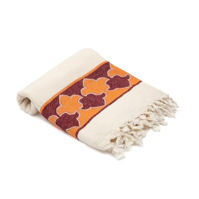Skiba Turkish Beach Towel Color: Orange