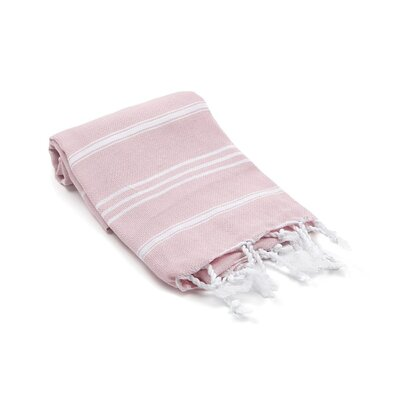 Turkish Hand Towel Color: Blush