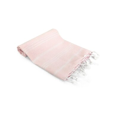 Turkish Hand Towel Color: Pink Cloud