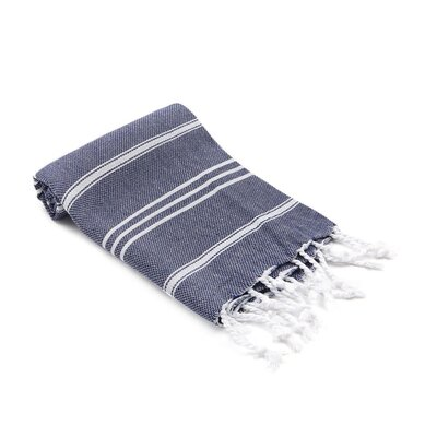 Turkish Hand Towel Color: Navy