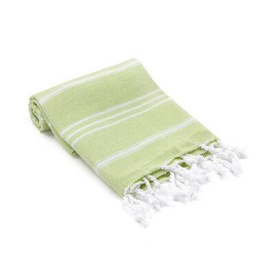 Marlow Turkish Beach Towel Color: Pistachio