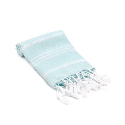 Marlow Turkish Beach Towel Color: Sea Foam