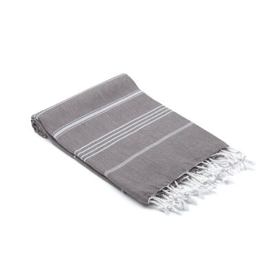 Turkish Hand Towel Color: Taupe