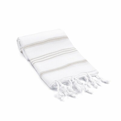 Turkish Hand Towel Color: Desert Sand