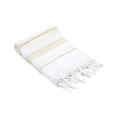 Turkish Hand Towel Color: Gold