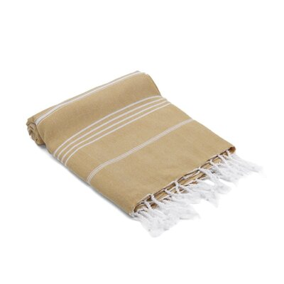 Marlow Turkish Beach Towel Color: Sand