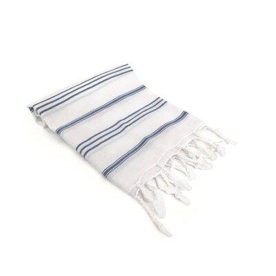 Turkish Hand Towel Color: Navy