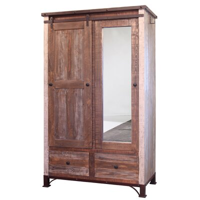 Rizer Mirror 1 Door Armoire