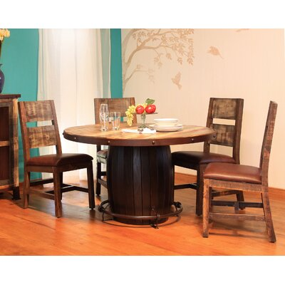 Round 5 Piece Dining Table Set