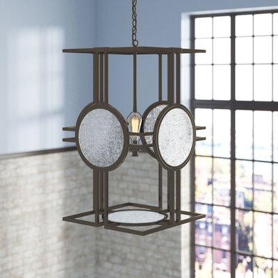 Rasheed 4-Light Foyer Pendant Size: 27 H x 16 W x 16 D
