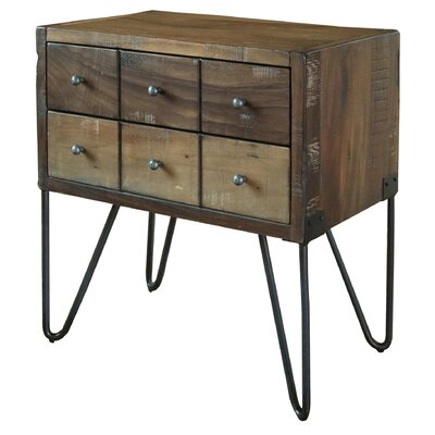 6 Drawer Nightstand