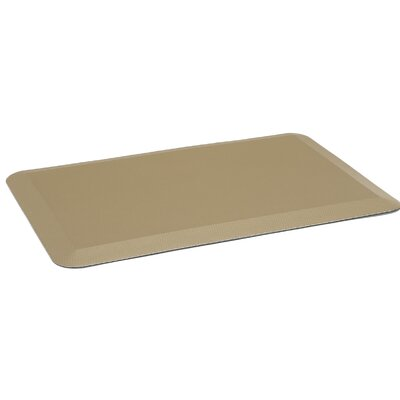 Jonah Anti Fatigue Comfort Doormat Color: Tan