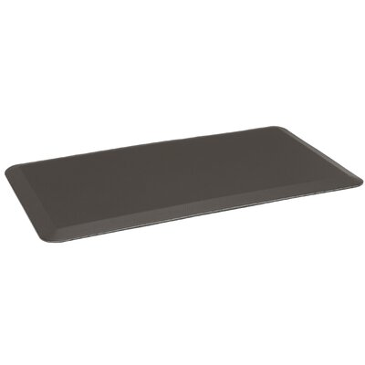 Jonah Anti Fatigue Comfort Doormat Color: Dark Brown PVC