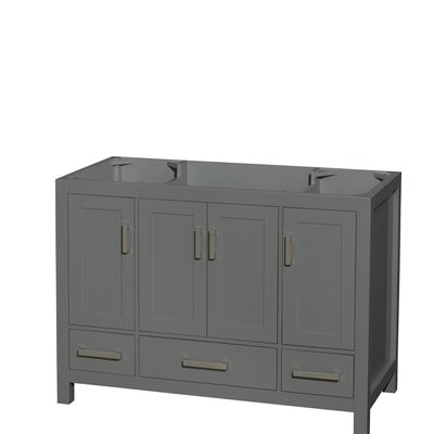 Sheffield 48 Single Bathroom Vanity Base