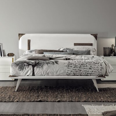 Tasca Upholstered Panel Bed Size: King