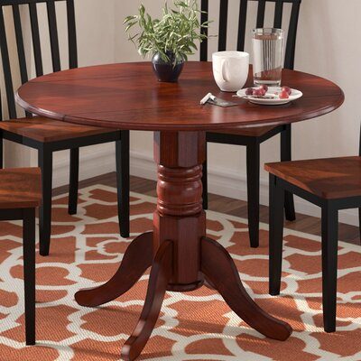 Chesterton Drop Leaf Dining Table Color: Mahogany, Color: White Mahogany