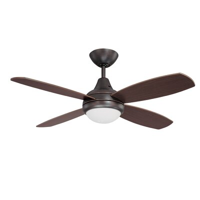 42 Hiller Ceiling Fan with Remote Finish: Copper Bronze